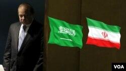 نخست وزیر پاکستان برای میانجیگری بین دو کشور به عربستان سفر کرده است.