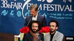 """Ərk qardaşları Beynəlxalq Fəcr Kino Festivalının """"Büllur Simurğ"""" mükafatını almağa nail olublar."""