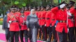 Samia Suluhu Hassan Mukaddashin Shugaban kasar Tanzaiya bayan rasuwar Shugaba Magufuli.