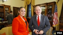 Senato Dış İlişkiler Komisyonu Başkanı Jim Risch VOA Türkçe'den Begüm Dönmez Ersöz'ün sorularını yanıtladı