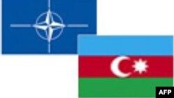 NATO-Azərbaycan bayraqları