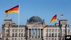 독일 베를린의 의사당 건물 (자료사진)
