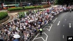 香港2011年七一大游行