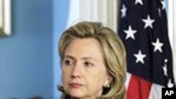 힐러리 클린턴 미 국무 장관 (자료사진)