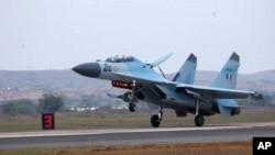 俄羅斯向馬來西亞出售戰鬥機﹐以印度蘇-30MKI戰鬥機(圖)為基礎的升級版本。