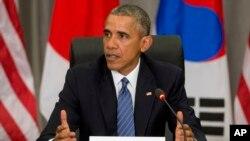 El presidente estadounidense, Barack Obama, es anfitrión de más de 50 líderes de todo el mundo en su última cumbre sobre seguridad nuclear.