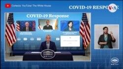 Más vacunas y mayor credibilidad, objetivos de la Casa Blanca