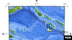 Kepulauan Solomon sempat dilanda gempa berkuatan 7,2 skala Richter.
