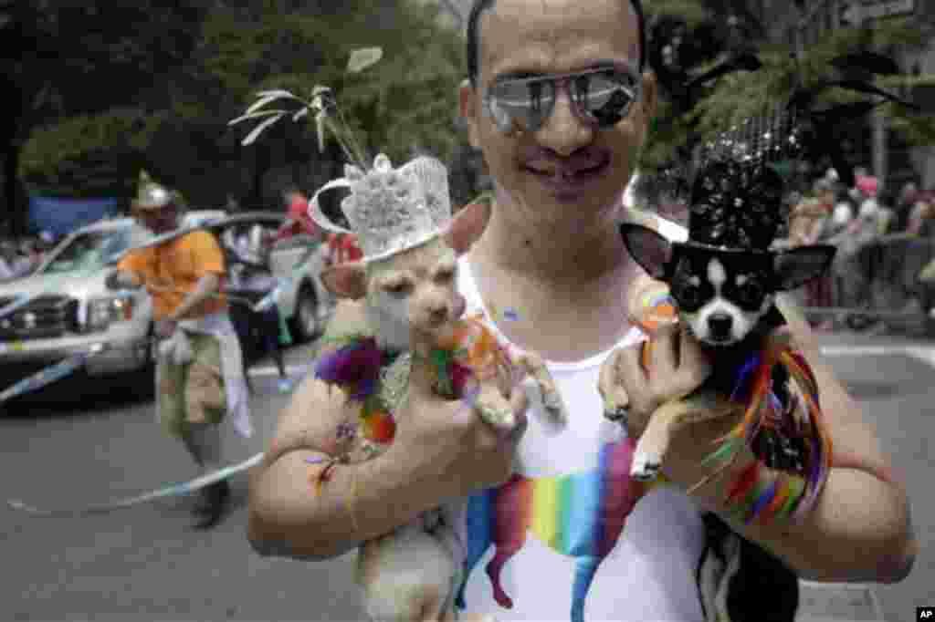 «Парад гордости геев» в Нью-Йорке