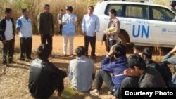 Montagnard people from Vietnam have crossed the border into Cambodia hiding out in the forests in northeastern Cambodia, fearful that the Cambodian authorities will deport them. (Courtesy photo: United Nations)