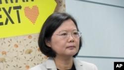 民進黨前主席蔡英文。(資料圖片)