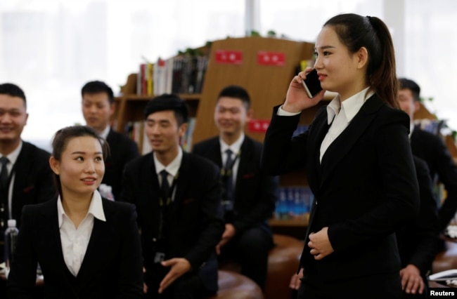 2017年12月8日,北京京东公司总部举办VIP会员送货商务礼仪培训班。