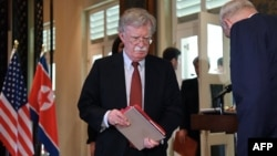 Le conseiller de la Maison Blanche en matière de sécurité nationale, John Bolton, Singapour le 12 juin 2018.