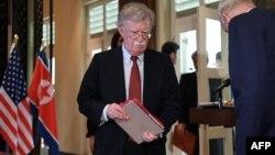 Le conseiller américain à la sécurité nationale John Bolton à Singapour le 12 juin 2018.