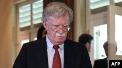 John Bolton à Jérusalem