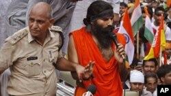 یوگا گرو بابا رام کی گرفتاری