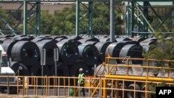 Pabrik baja di kota Monterrey, Meksiko (foto: ilustrasi).