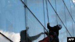 Хьюстон в руках мойщиков стекол