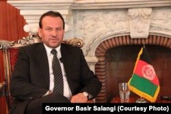 Farah Province Governor Basir Salangi.