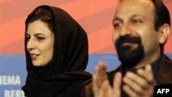 Актриса Лейла Хатами и ржиссер Ашгара Фархади
