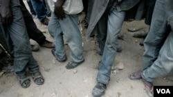 Des mineurs de Kitalu dans la région de Manyara, en Tanzanie, le 20 mars 2008. (Photo d'illustration)