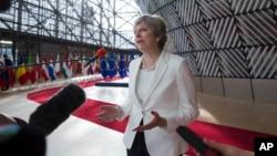 Прем'єр-міністр Тереза Мей пропонує надати право на постійне проживання тим європейцям, які прожили в Британії 5 років