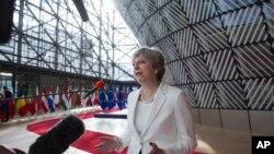 May dijo que ningún ciudadano europeo que se encuentre en el Reino Unido, será obligado a irse