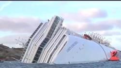2012-01-23 粵語新聞: 救援人員在意大利郵輪上發現第13名遇難者