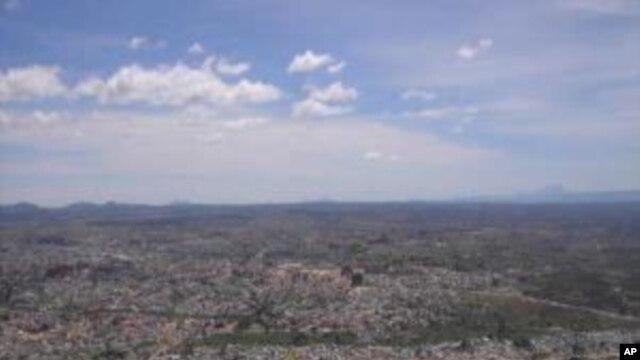 Vista da cidade do Lubango