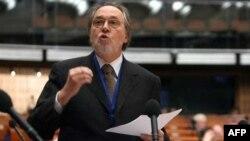 Dik Marti u Parlamentarnoj skupštini Saveta Evrope