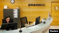 Le bureau d'Amazon au Luxembourg, le 20 novembre 2012.