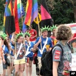 华盛顿举办年度同志自豪游行