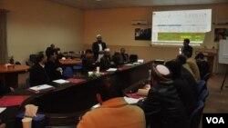 برنامه آموزشی داکتران صحی در مرکز عملیاتی عاجل در حوزه غرب