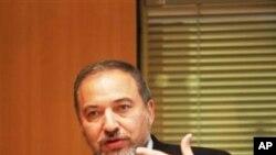 ທ່ານ Avigdor Lieberman ລັດຖະມົນຕີກະຊວງການຕ່າງປະເທດ ອິສຣາແອລ.