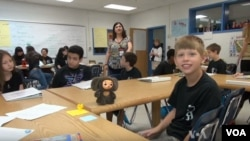 Students attend the STARTALK Russian language immersion program for four weeks in the summer.