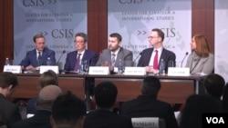 23일 미국 워싱턴 전략국제문제연구소(CSIS)에서 한반도 문제 등 아시아 안보 현안에 대한 토론회가 열렸다.