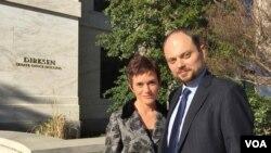 Владимир Кара-Мурза с супругой Евгенией