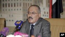 یمن کے صدر علی عبداللہ صالح (فائل فوٹو)