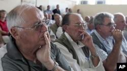 津巴布韦白人农场主正在开会