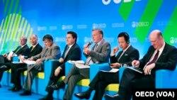 Ekonomik İşbirliği ve Kalkınma Örgütü OECD'nin Paris'teki toplantısı
