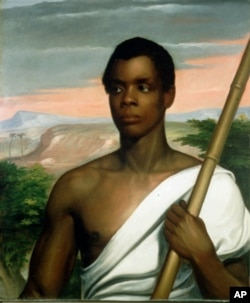 An 1839 portrait of Joseph Cinque, or Sengbe Pieh