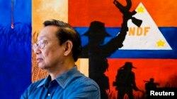 Ông Jose Maria Sison, người sáng lập và lãnh đạo Đảng Cộng sản Philippines, đã sống ở Hà Lan trong ba thập niên qua.