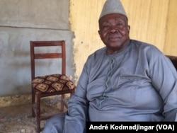 Abdéramane Djasnabaye, président de l'ATD, au Tchad, le 30 mars 2020. (VOA/André Kodmadjingar)