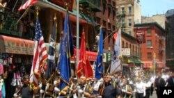 紐約華裔退伍軍人旗隊