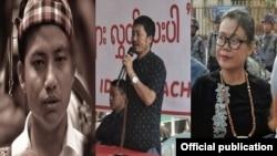 တရားစြဲဆိုခံရသူ ကခ်င္အေရးလႈပ္ရွားသူေတြ (Kachin Youth Movement)