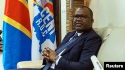 Corneille Nangaa, président de la Commission électorale nationale indépendante de la RDC, 12 mai 2017.