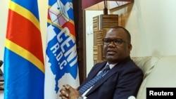 Corneille Nangaa, président de la Commission électorale nationale indépendante de la RDC, le 12 mai 2017.