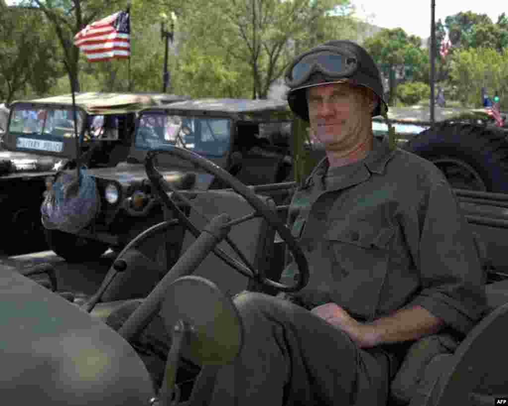 Солдат в форме времени вьетнамской войны
