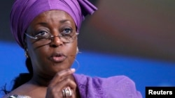Ministar Man Fetur na Najeriya Diezani Alison-Madueke
