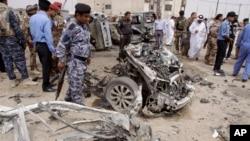 Mesto napada u Basri